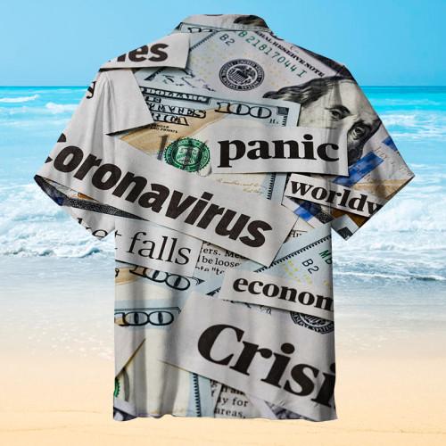 Stock dollar Hawaiian shirt