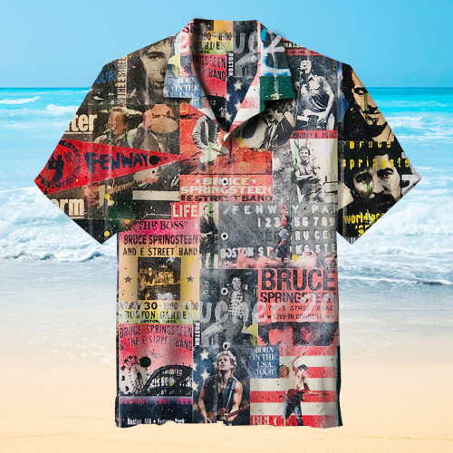 the E.Street Band Hawaiian shirt