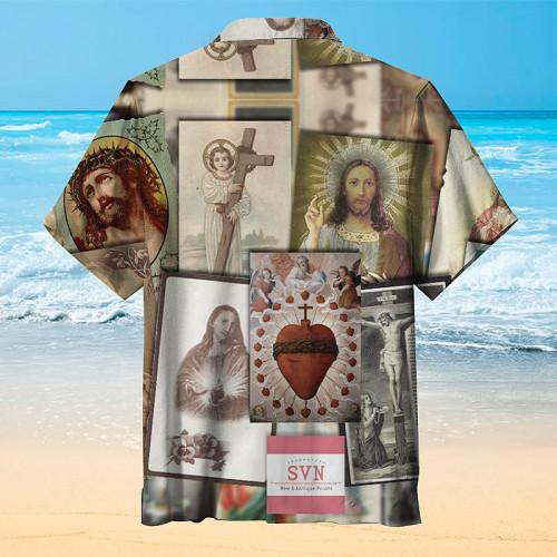 Christ hawaiian shirt