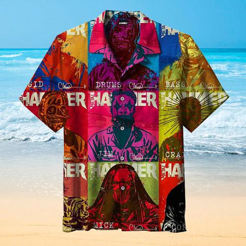 Horror Comic Hawaiian Shirt