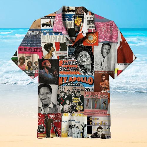Great R&B singers Hawaiian shirt