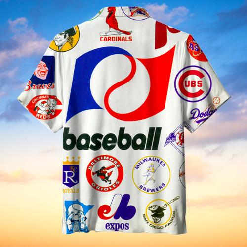 Baseball All-Star Hawaiian Shirt