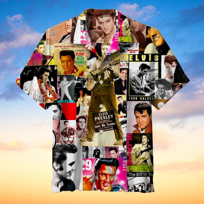 Elvis Presley Hawaiian shirt