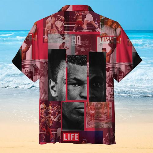 Mike Tyson King of Boxing Hawaiian Shirt