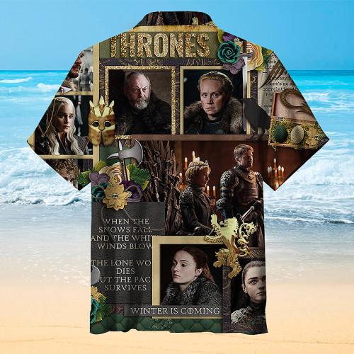 Game of Thrones Hawaiian shirt