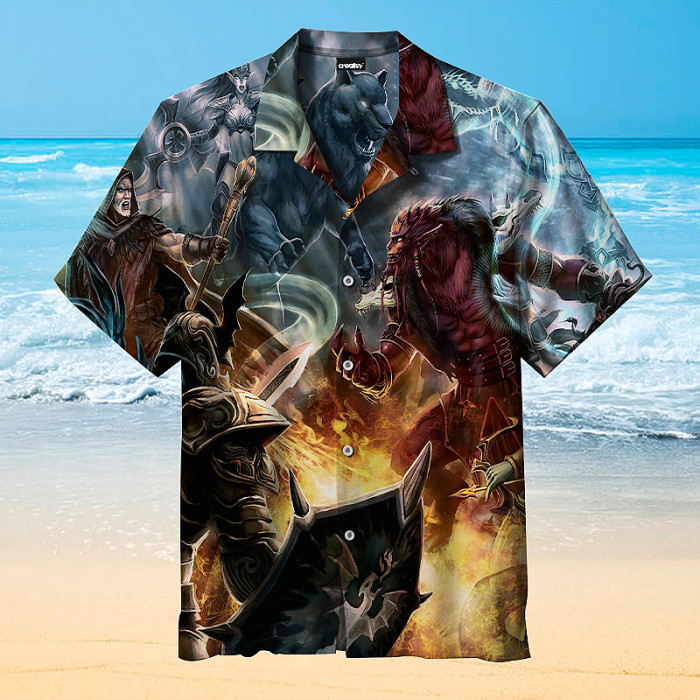 DotA Hawaiian shirt