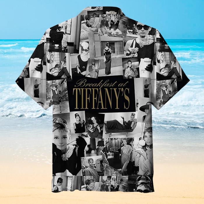 Audrey Hepburn Hawaiian shirt