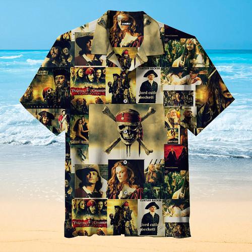 Pirates of the Caribbean Hawaiian Shirt
