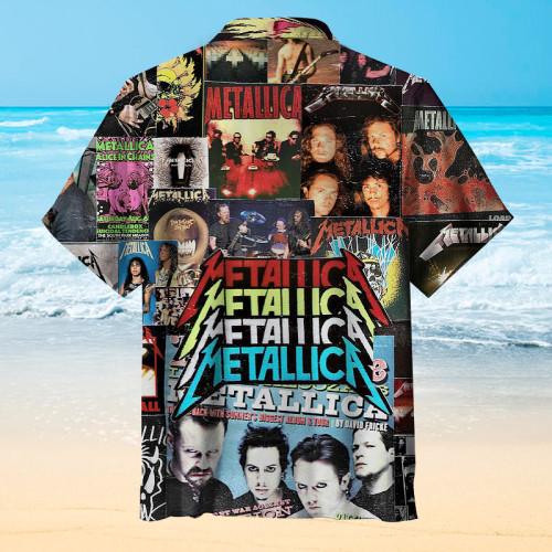 Metallica Hawaiian shirt