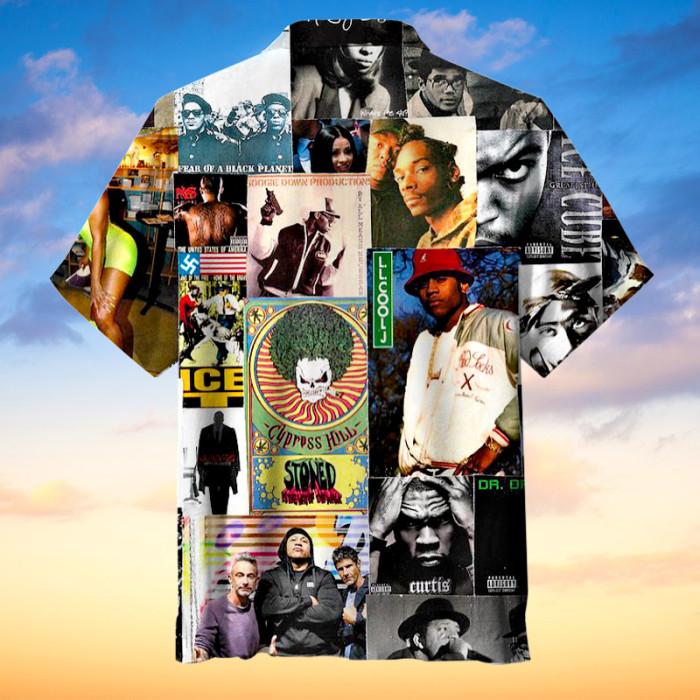 Classic Rap and Hip Hop Hawaiian Shirt
