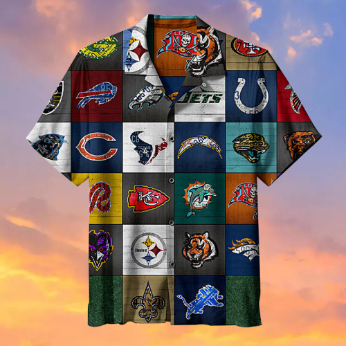 Rugby logo Hawaiian shirt