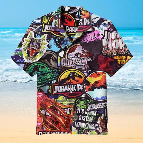 Dinosaur Hawaiian shirt