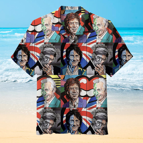 Rolling Stones Hawaiian shirt
