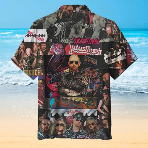 Judas Priest Hawaiian shirt