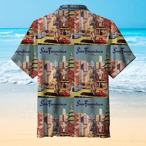 I love my San Francisco Hawaiian shirt