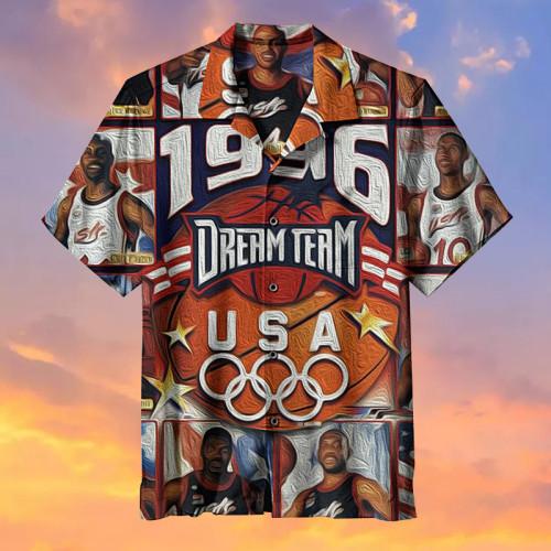 1996 American NBA Dream Team Hawaiian Shirt