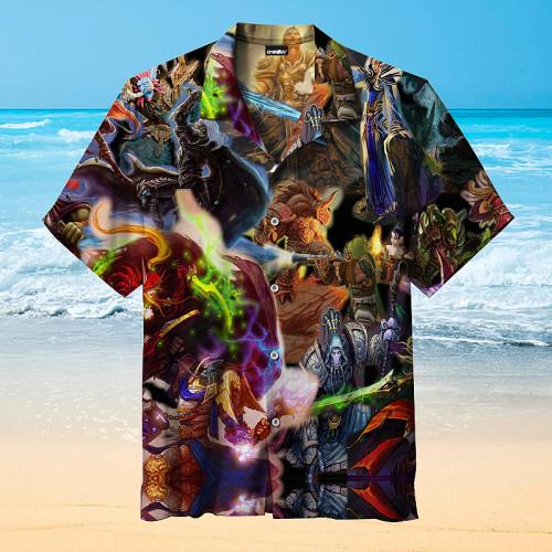 World of Warcraft Hawaiian Shirt