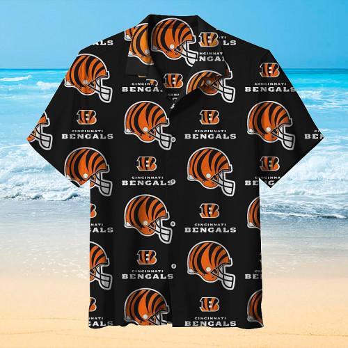 NFL Cincinnati Bengals Football Team Hawaiian Shirt