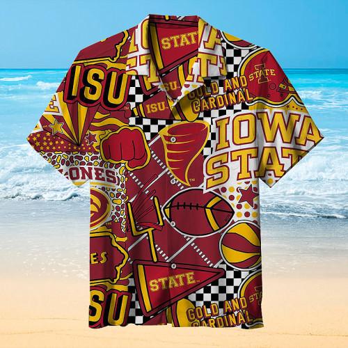 Iowa State Cyclones football Hawaiian Shirt