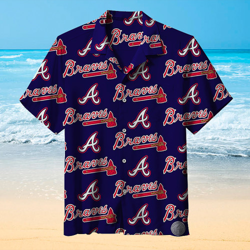 Major League Baseball Atlanta Warriors Hawaiian Shirt