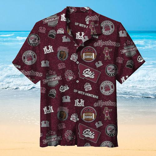 Montana Grizzlies Hawaiian Shirt