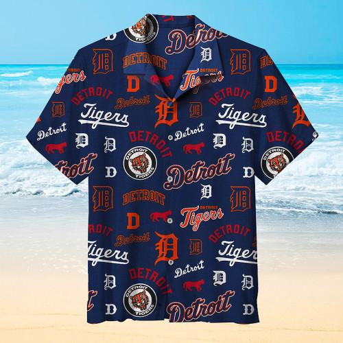 MLB Detroit Tigers Hawaiian Shirt
