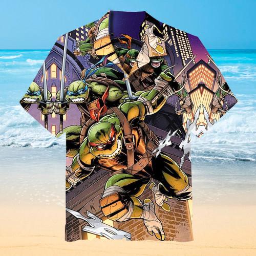 Teenage Mutant Ninja Turtles Hawaiian shirt