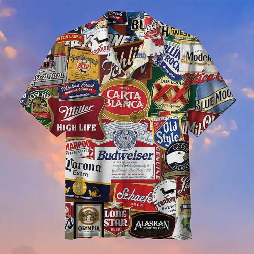 I love beer Hawaiian shirts
