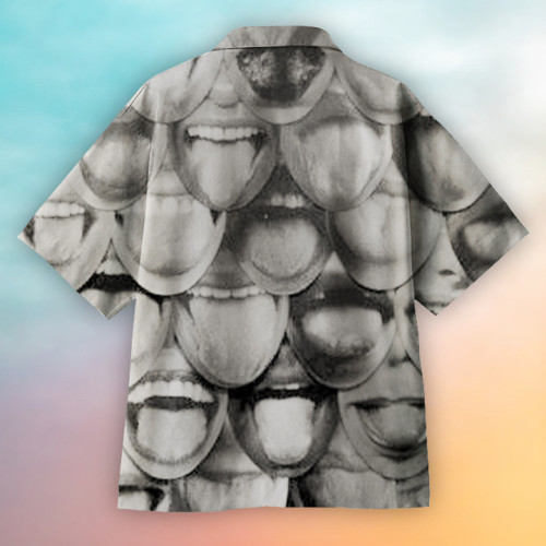 Tongue Body Art Hawaiian Shirt