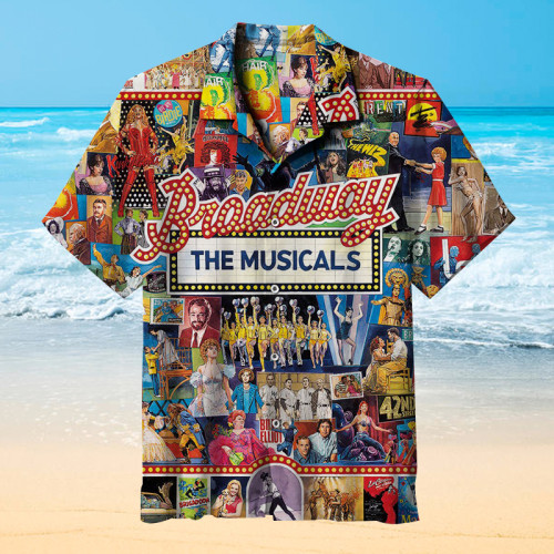 BROADWAY SHOWS Hawaiian shirt