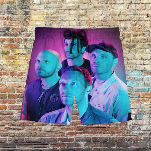 Coldplay Hawaiian Beach Pants