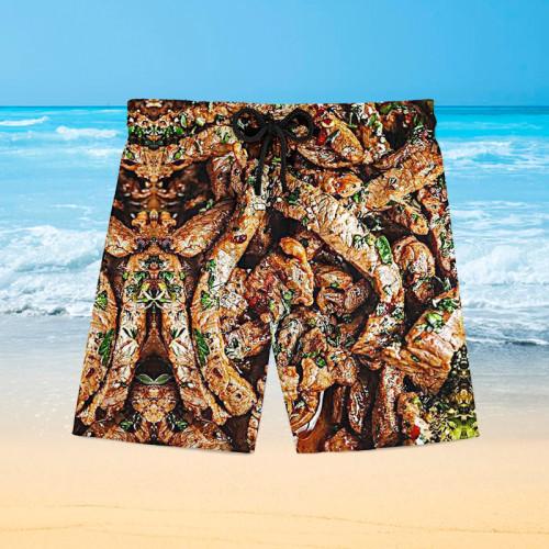 Barbecue gourmet Hawaiian beach pants