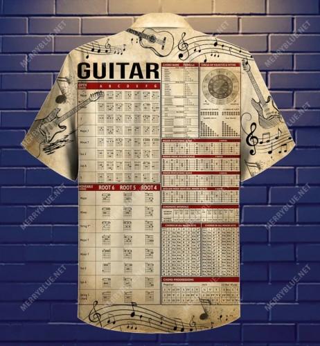 Where Words Fail, Guitar Speaks Guitar Lake Hawaiian Shirt
