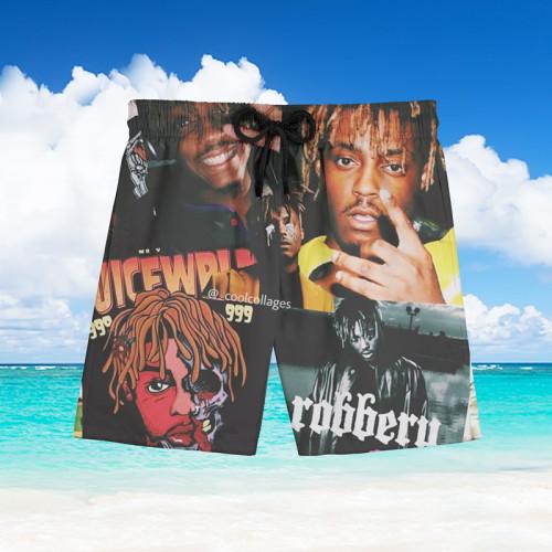 Rapping Hawaiian Beach Pants