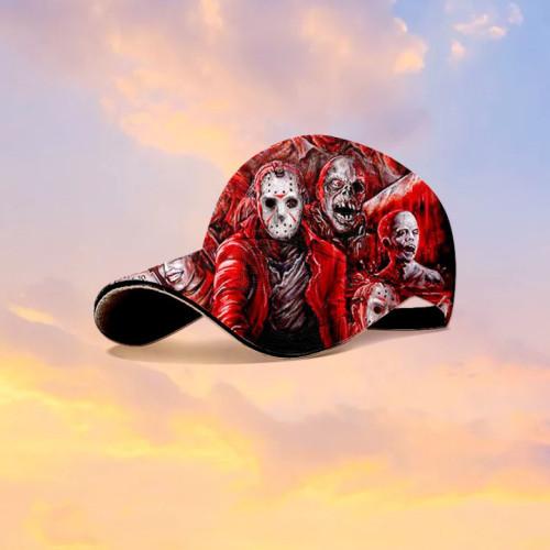 Friday the 13th Jason Voorhees horror movie Hawaiian hat
