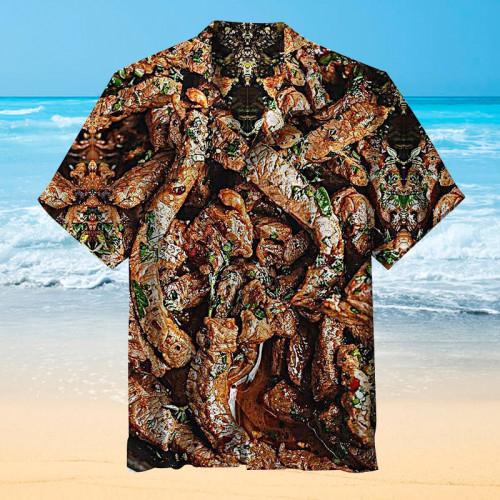 Barbecue gourmet Hawaiian shirt