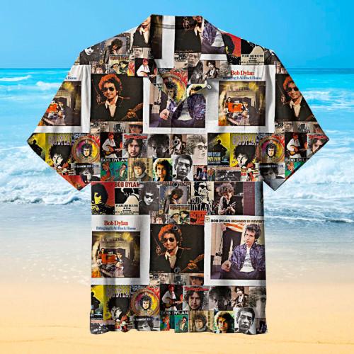 Bob-Dylan-Collage   Hawaiian Shirt