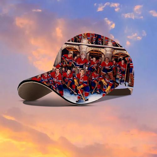 Hockey Team Hawaiian Hat