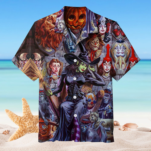 Wicked Witch of the West in the Wizard of Oz丨Hawaiian shirt