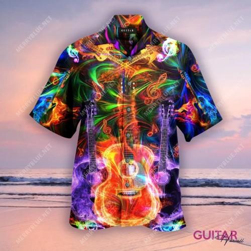 Amazing Guitar Unisex Hawaiian Shirt