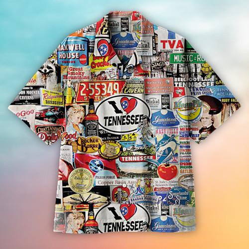 I Love Tennessee Hawaiian shirt