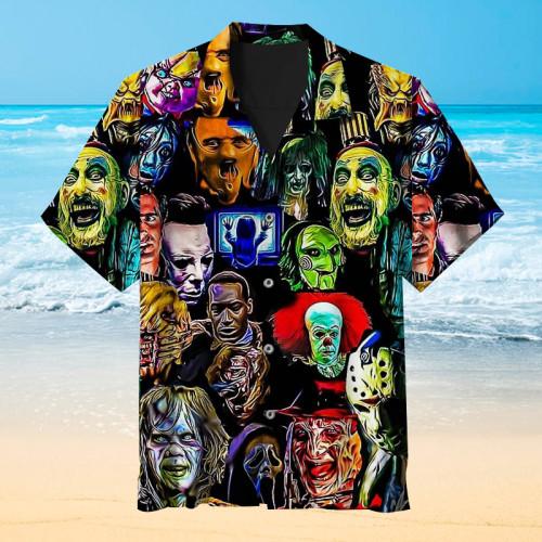 The villain in a horror movie Hawaiian shirt