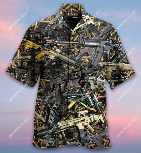 The Quickest Way To A Man's Heart Is 2970 Feet Per Second Unisex Hawaiian Shirt