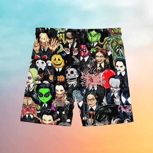 Goth full Hawaiian beach pants