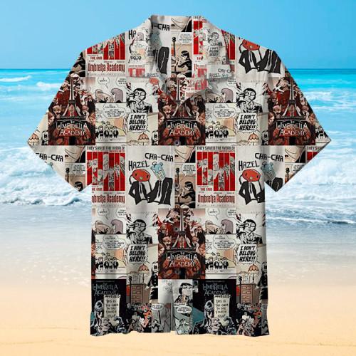 The Umbrella Academy comics Hawaiian shirt