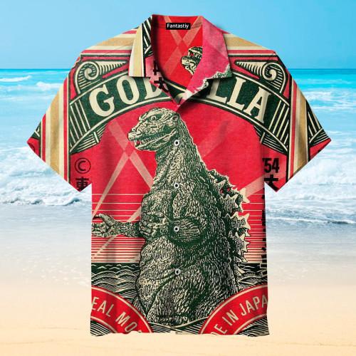 Toho Godzilla Hawaiian shirt