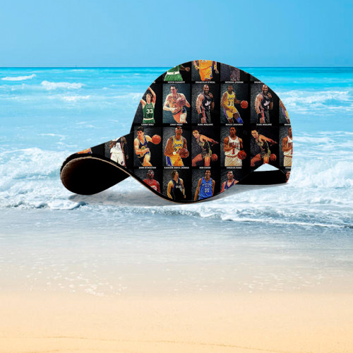 NBA star Hawaiian hat