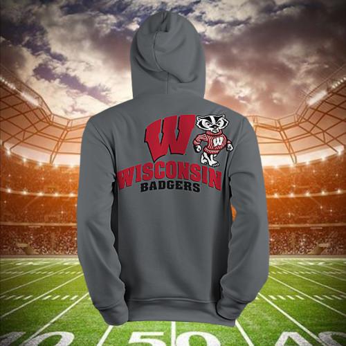 Wisconsin Badgers football丨Hoodie