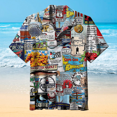 I Love Cape Cod Hawaiian shirt