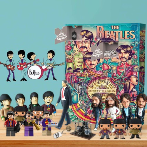 The Beatles Advent Calendar 2021-- The One With 24 Little Doors
